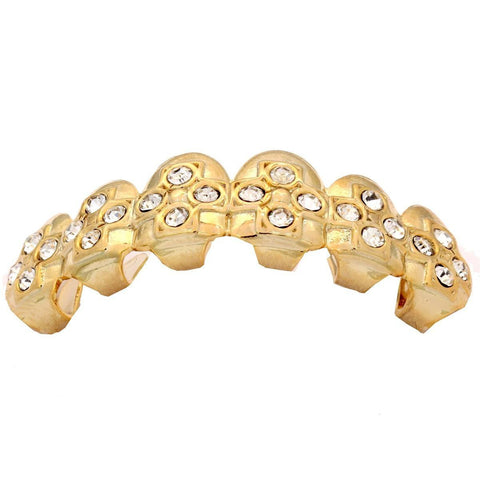 GOLD TOP GRILLZ CROSSES