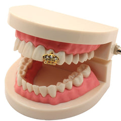 GOLD GRILLZ SINGLE TOOTH CROWN