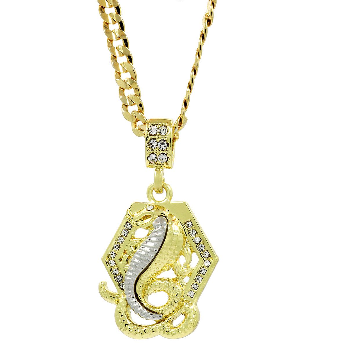 Small chain pendants the snake necklace blingkingstar jewelry the snake necklace aloadofball Gallery