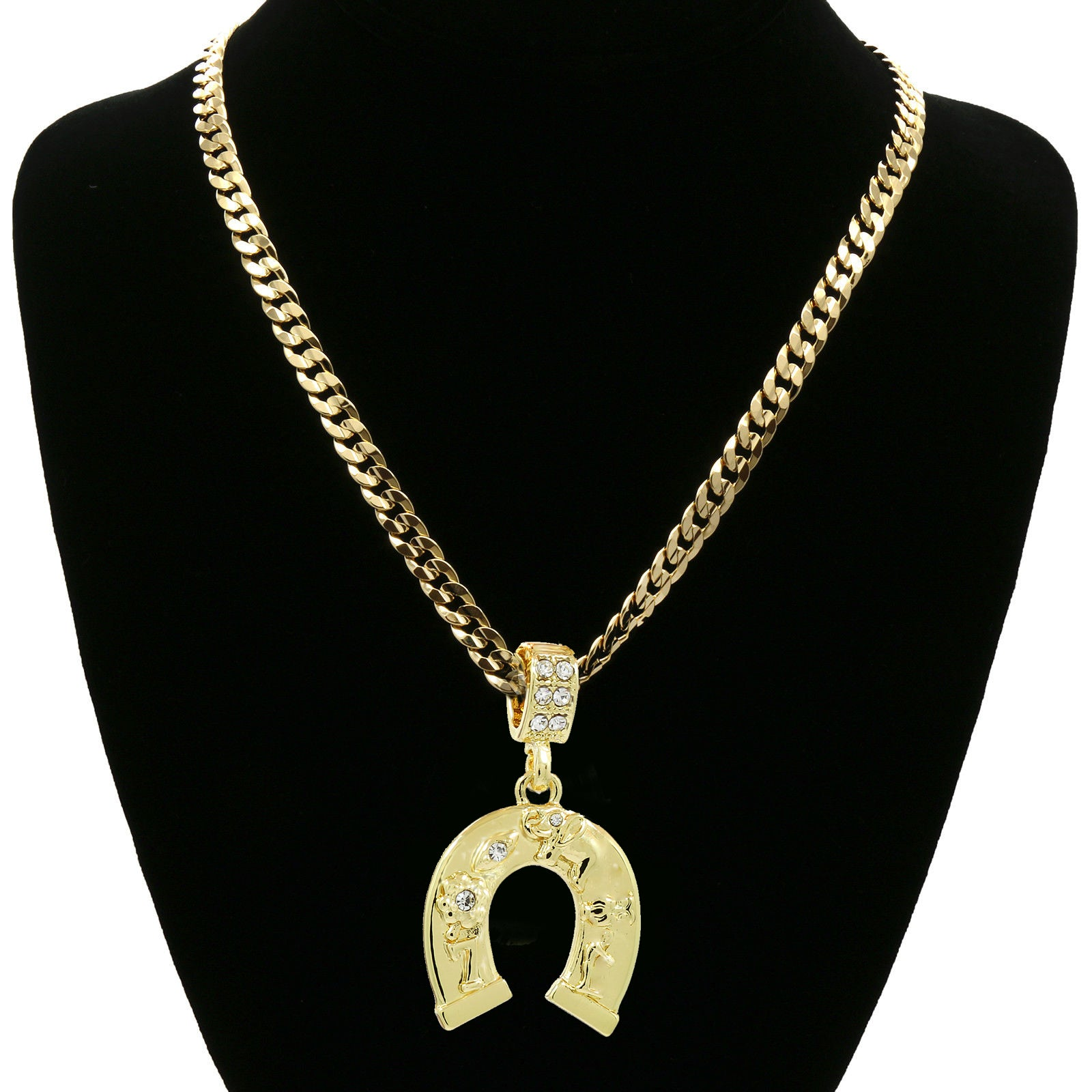 The Horse Shoe Necklace