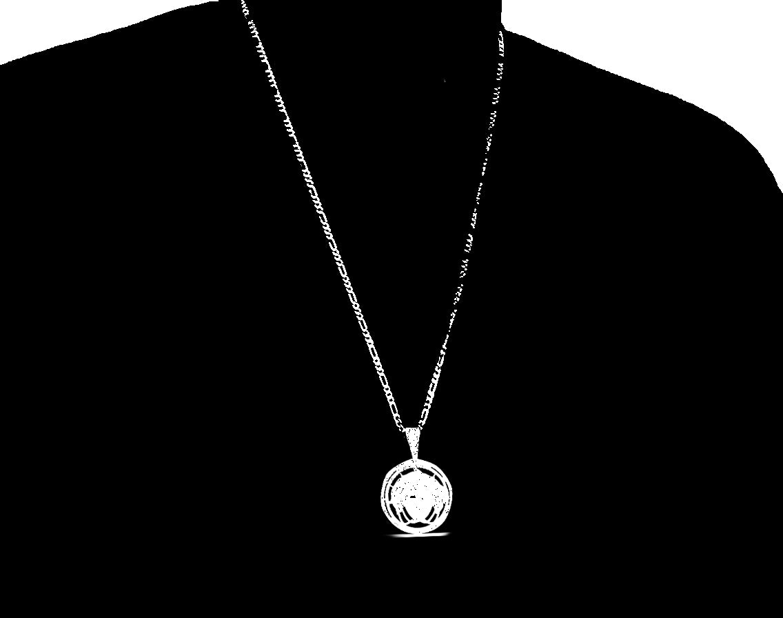 MEDUSA  PENDANT WITH Free Chain