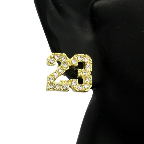 Cz 23 GOLD FILLED EARRINGS