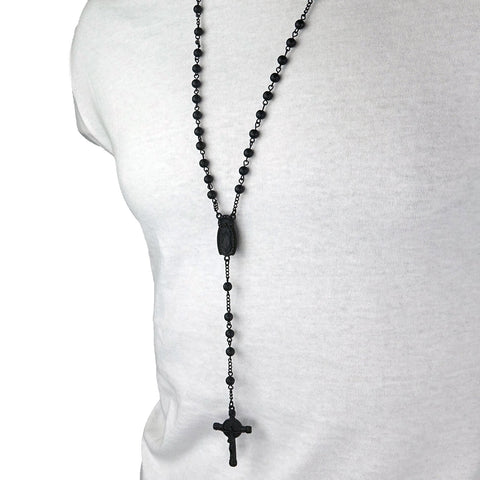 GUADALUPE BLACK TONE ROSARY