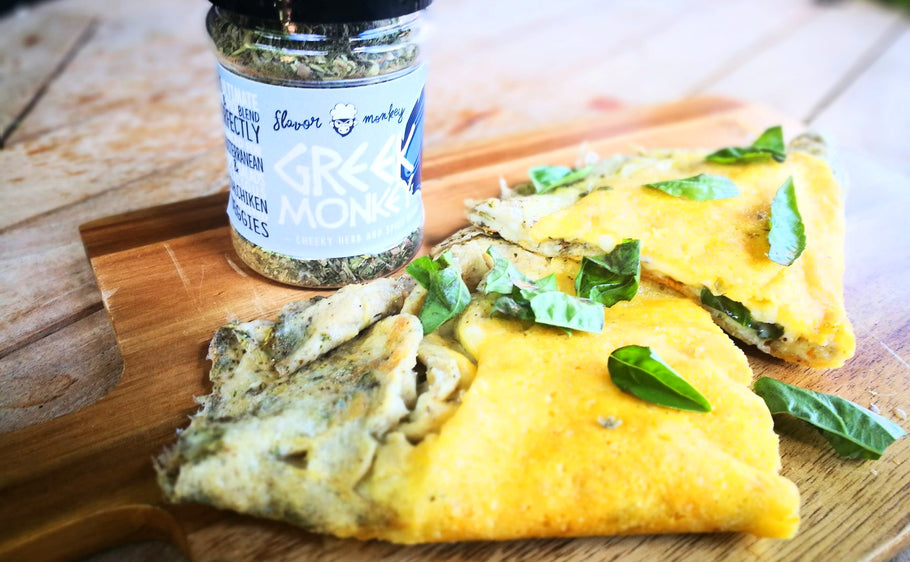 The cheesiest most decadent omlette you'll ever eat!