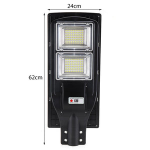 Solar Powered LED Motion Sensor Waterproof Security Light With Remote - Hot Products Guru
