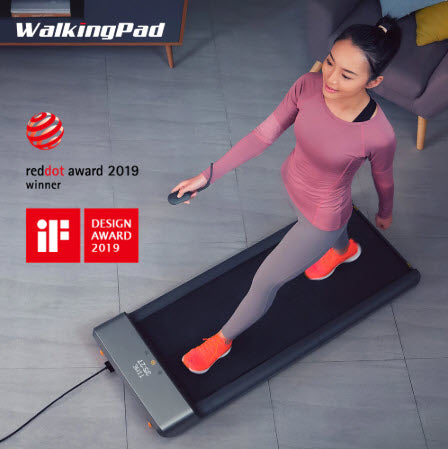 Image of FitBow™ Smart Folding Treadmill for Home Fitness Walking and Running