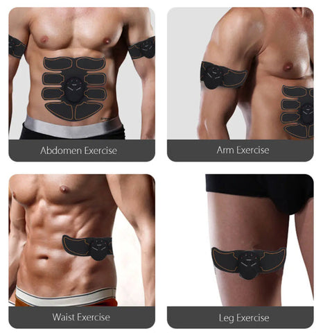 AbsFit™ EMS Abs Muscle Stimulator Smart Trainer for the Best 6 Pack