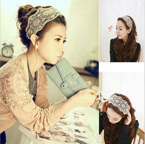 Womens Lace Headband