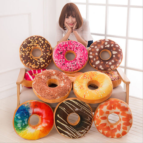 Kawaii Donut Pillow