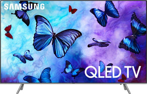 "QN55Q6FN Samsung 55"" Class 4K (2160P) Ultra HD Smart QLED HDR TV (Recertified) 1 year warranty Free Delivery"