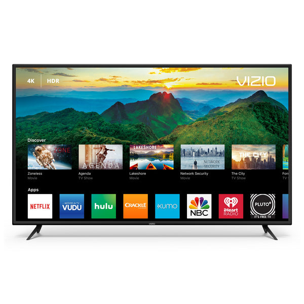 "D50-F1 VIZIO 50"" Re-certified  Class 4K (2160P) Ultra HD HDR Smart LED TV 2018 Model (Free Delivery and One Year Warranty)"