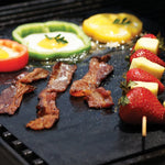 Grill Mat - Non Stick BBQ Grill Mats - Heavy Duty, Reusable, and Easy to Clean - 1 Pice