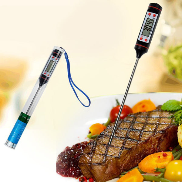 Awesome Digital Cooking Thermometer - with Instant Read, LCD Screen.