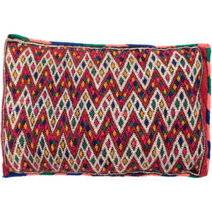Vintage Moroccan Multicolour Kilim Rectangle Cushion No 2 - Bohemian Lifestyle