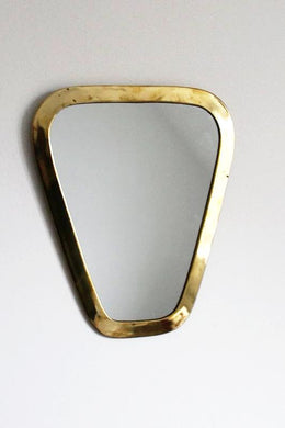 Moroccan Triangle Brass Mirror - Bohemian Lifestyle