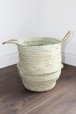 Seagrass Basket - Large - Bohemian Lifestyle