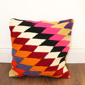 Turkish Kilim Cushion No 1 - Bohemian Lifestyle