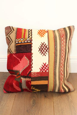 Turkish Kilim Cushion No 4 - Bohemian Lifestyle
