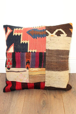 Turkish Kilim Cushion No 5 - Bohemian Lifestyle