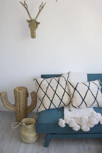 Beni Ourain Cushion No 7 - Bohemian Lifestyle
