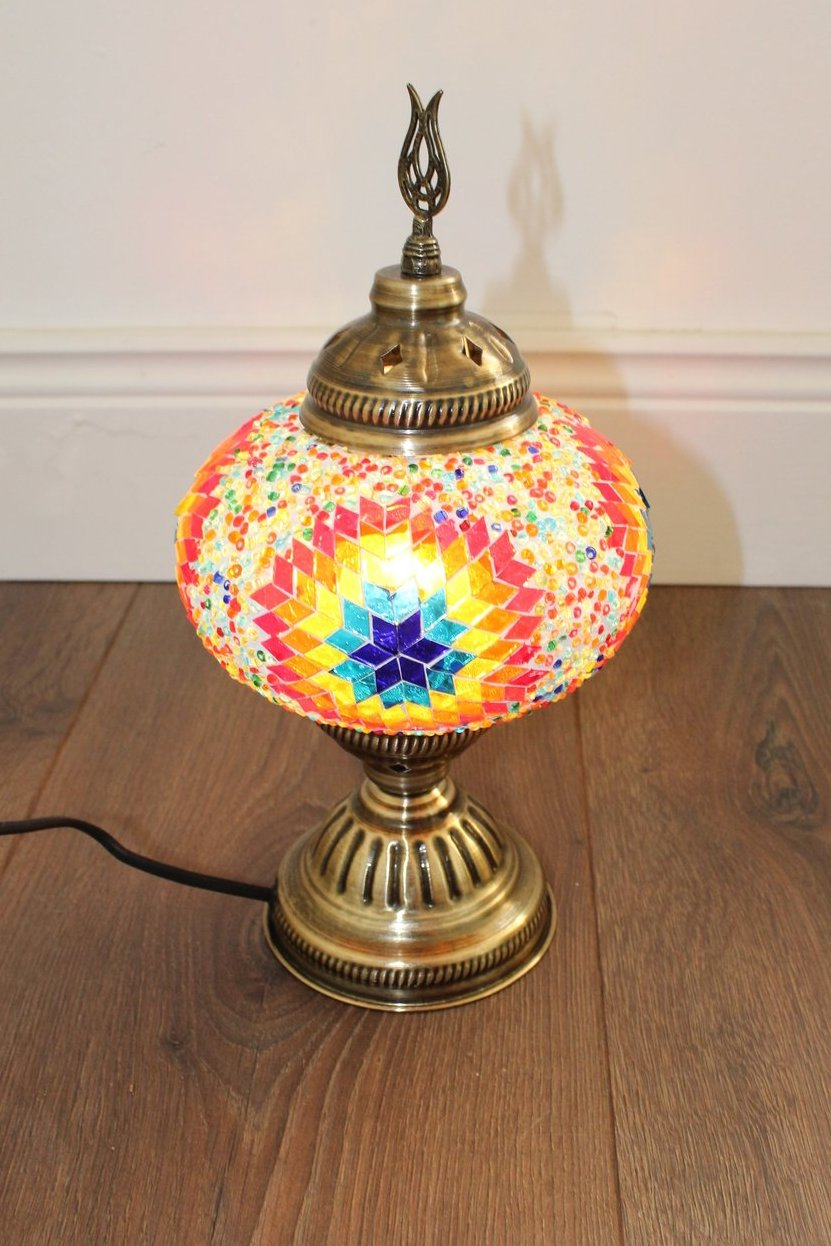 Turkish Mosaic Lamp - Burst of Beauty - Bohemian Lifestyle
