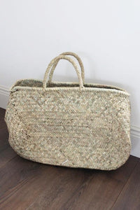 Marrakesh Oval Shopper Basket - Bohemian Lifestyle