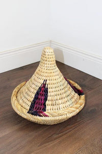 Moroccan Woven Tagine Storage Pot – Medium - Bohemian Lifestyle
