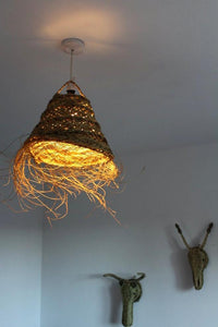 Moroccan Grass Light Shade - Bohemian Lifestyle