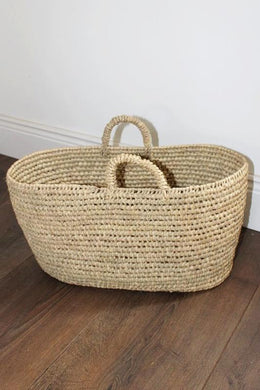 Essaouira Shopper Basket - Bohemian Lifestyle