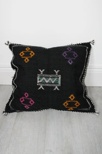 Moroccan Sabra Silk Cushion Cover No 7 - Bohemian Lifestyle
