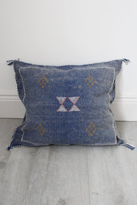 Moroccan Sabra Silk Cushion Cover No 15 - Bohemian Lifestyle