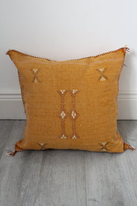 Moroccan Sabra Silk Cushion Cover No 16 - Bohemian Lifestyle