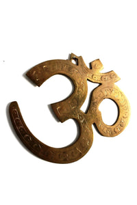 Indian Brass OM Wall hanging - Bohemian Lifestyle