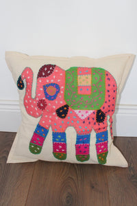 Indian Embroidered Cushion Cover - No 2 - Bohemian Lifestyle