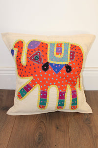 Indian Embroidered Cushion Cover - No 5 - Bohemian Lifestyle