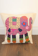 Indian Embroidered Cushion Cover - No 6 - Bohemian Lifestyle