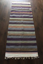 Indian Kilim Runner Rug / Yoga mat - Mysore No 1 - Bohemian Lifestyle