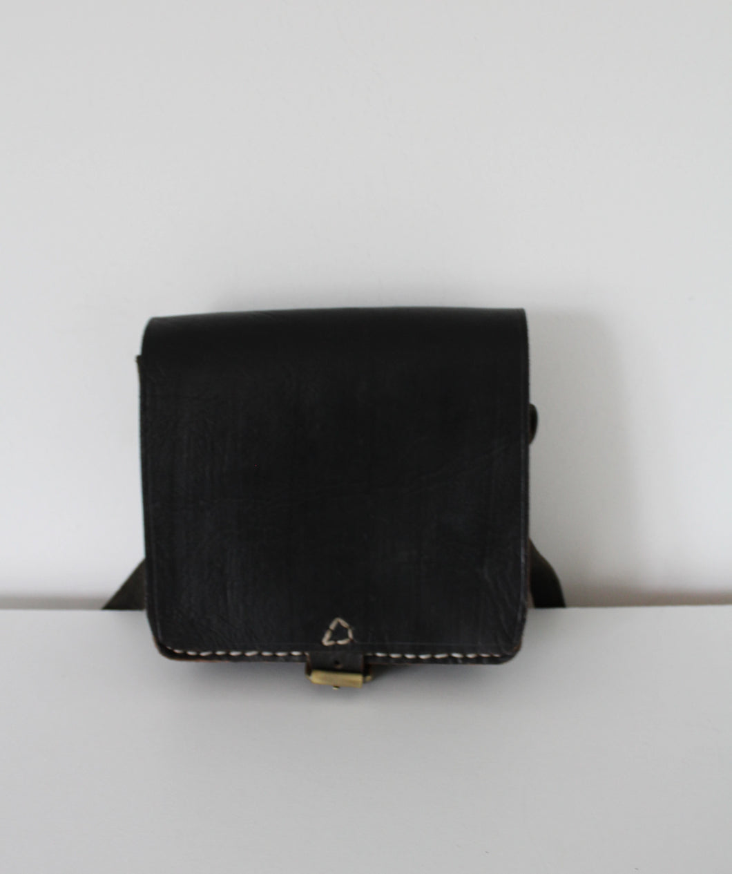 Boho Square Saddle Bag -  Black - Bohemian Lifestyle