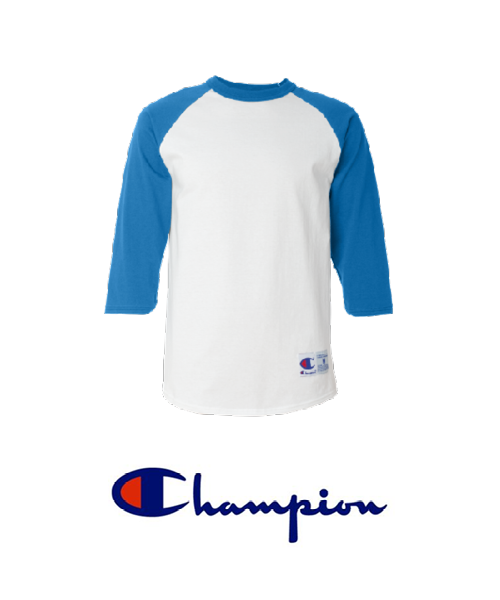 a2cea8971ea2 ... Chamnpion brand baseball tees for custom printing with UGP ...