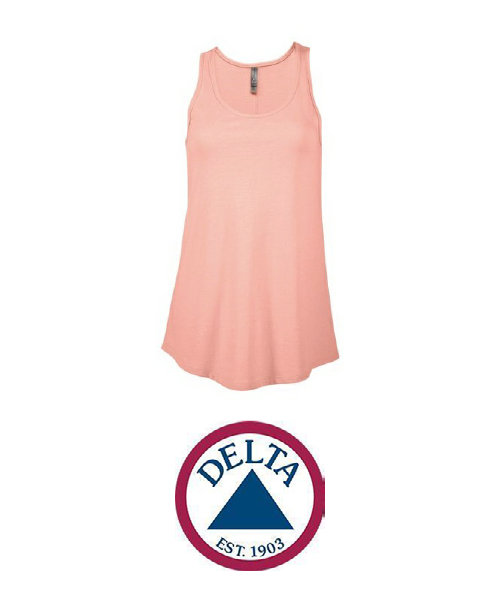 Delta brand ladies wear for custom printing with UGP