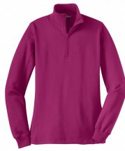 Sport-Tek Ladies Quarter Zip Sweatshirt