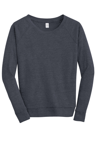 Alternative Apparel Ladies Eco-Jersey Slouchy Pullover