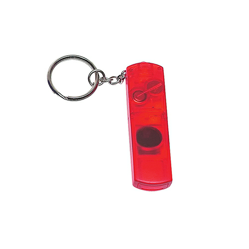 Hit Promo Whistle Light And Compass Key Chain
