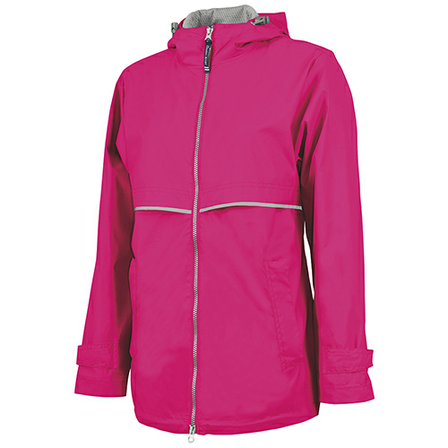 Charles River Womens New England Rain Jacket