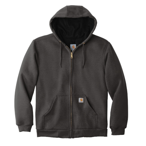 Carhartt Rain Defender Rutland Thermal-Lined Hooded Zip-Front Sweatshirt