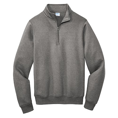Port and Company Core Fleece Quarter-Zip Pullover Sweatshirt