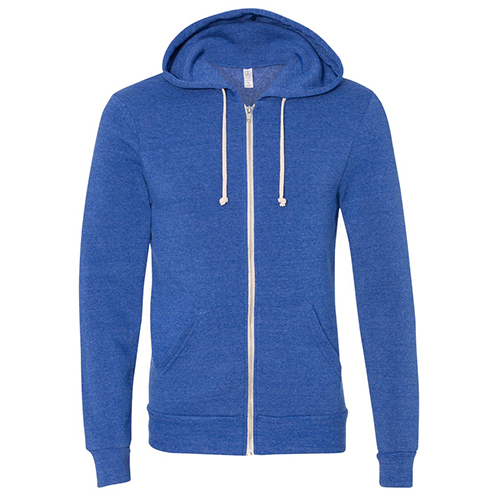 Alternative Apparel The Rocky Eco-Fleece Zip Hoodie