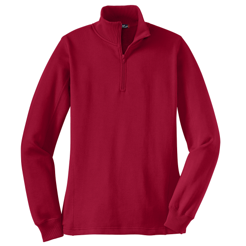 Sport- Tek Ladies Quarter Zip Sweatshirt