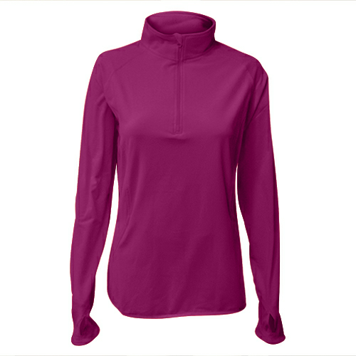 Sport-Tek Ladies Sport-Wick Stretch 1/2 Zip Pullover