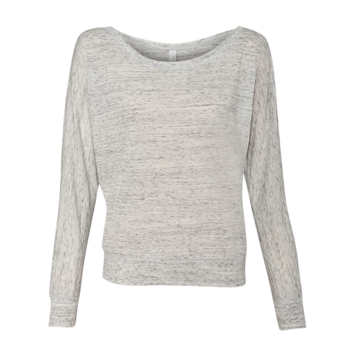 Bella Canvas Lightweight Relaxed Long Sleeve Dolman Tee